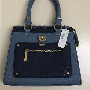 Charming Charlie Blue Bag